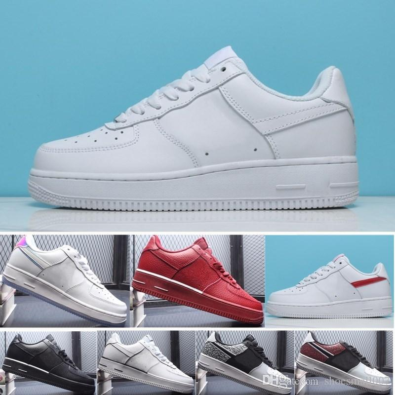 c518085906ed New Arrival Mens Womens 1 Skateboarding Shoes Leather Sneakers ...