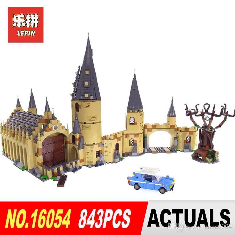16054 Blocs Jouets Noël Movie Le 75953 Cadeaux Poudlard Saule Enfants Construction Lepin Modèle Stock De Cogneur Ensemble Harry En Potter Lego Yy6bgf7