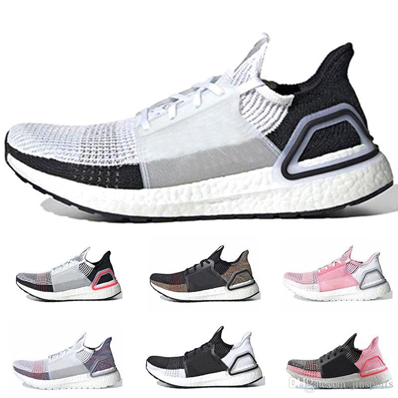 fc566e5e618d 2019 New Style Ultra Boost 19 Mens Women Running Shoes Cloud White ...