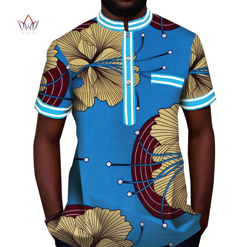 b6d64a853 2019 Trending Men African Fashion Dashiki Design Collar Print Shirt  Mandarin Personal Customized African Dashiki Men Clothes WYN815 From  Xinpiao, ...