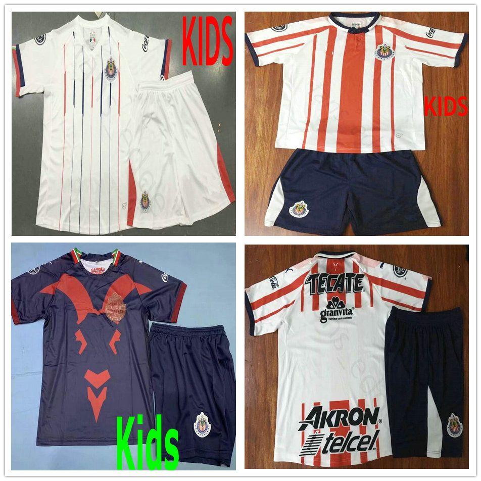 6d69644e612b1 19 20 Camisetas De Fútbol De Chivas De Guadalajara Para Niños De ...
