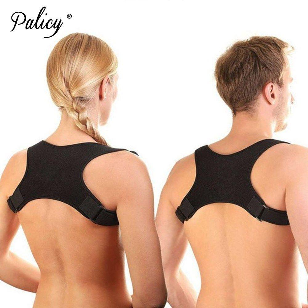 e67bea93a 2019 Upper Back Belt Posture Corrector Support Girdles Men Corset Fracture  Shoulder Brace Vest Correct Posture Correction Body Shaper From Houmian