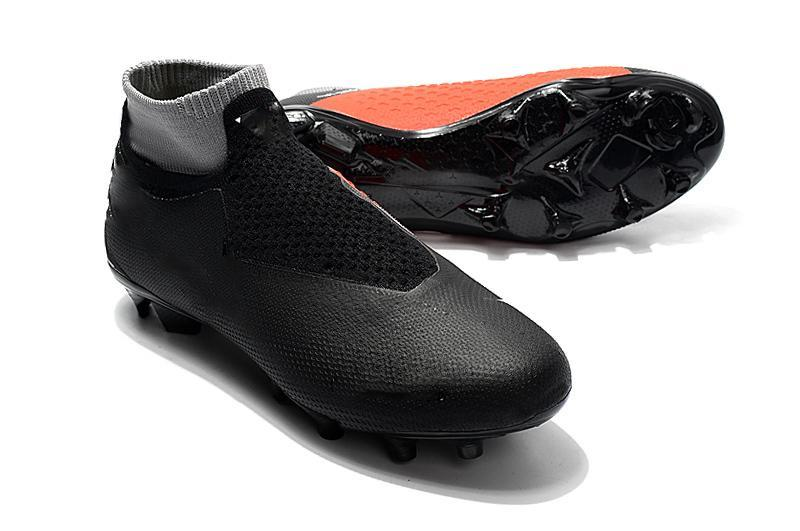 New Mens Soccer Crampons Phantom Vsn Elite Df Fg Ag Chaussures De Soccer En Plein Air X Ea Sports Phantom Vision Bottes De Football Scarpe Calcio 39-45