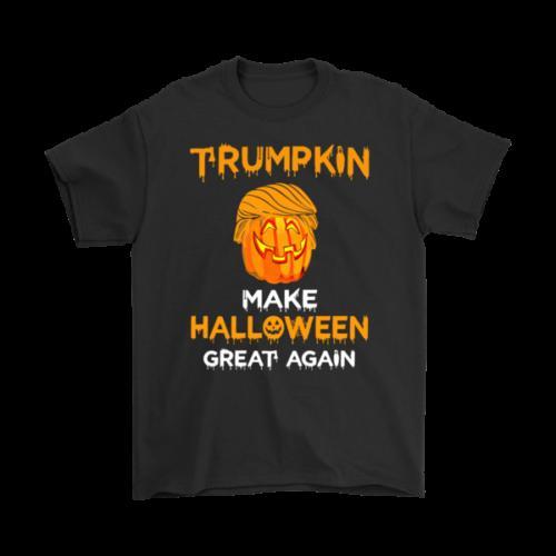 0b66587d New Funny T Shirt Donald Trump Jack O Lantern Make Halloween Great Again  Pumpkin 2018 New Short Sleeve Family Top Tee Best T Shirt Sites T Shirt  Shopping ...