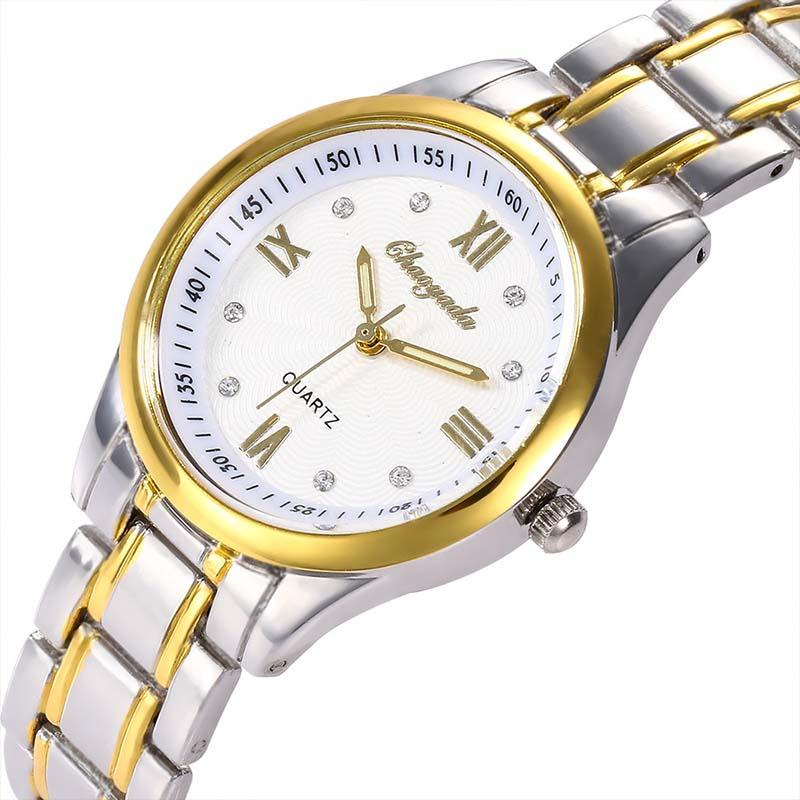 a59a3c52ec94 Compre Nueva Moda Pareja Relojes Clásicos Hombres Mujeres Negocios Acero  Relojes De Pulsera De Cuarzo Reloj Minimalista Juvenil Venta A  22.63 Del  Value222 ...