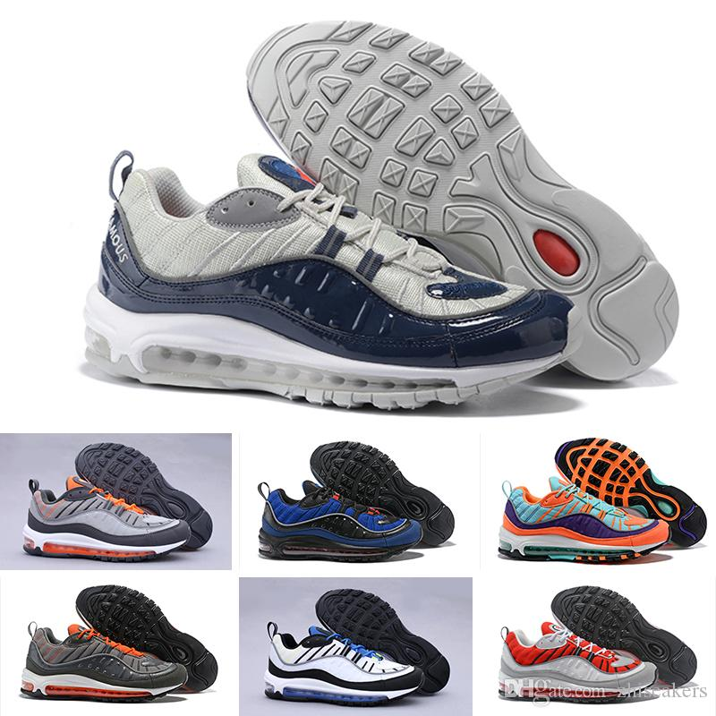 983f4969d113f3 2018 New Air Fashion Classic Style 98 Men Running Shoes Authentic ...
