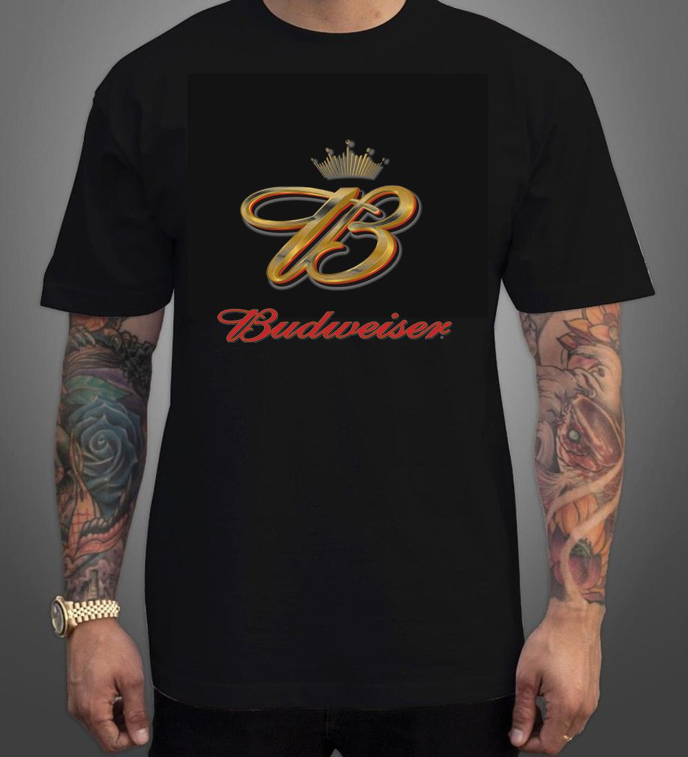 cc3fcda8 Budweiser 5 Black T Shirt Men Women Unisex Fashion Tshirt 24 Hour Tee  Shirts T Shirts T Shirts From Designprinttshirts, $13.91| DHgate.Com
