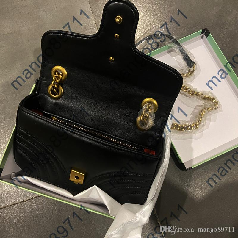 Moda Çanta Bayanlar Çantalar Çantalar Kadın Tote Çanta Koyun Deri Deri Omuz Çantası Sırt Çantası Çanta Çanta 22 cm