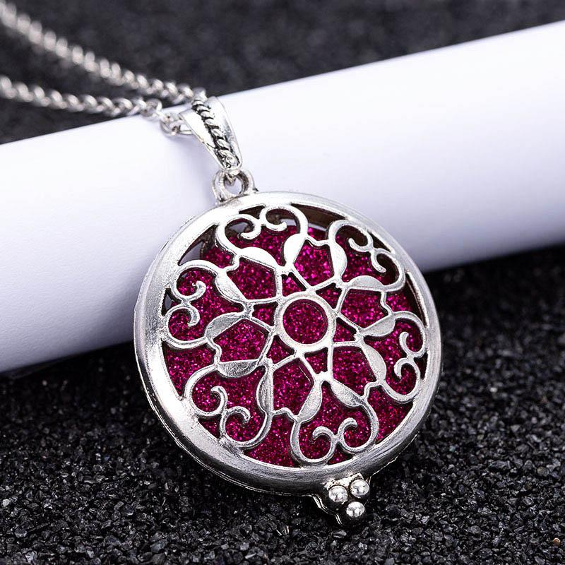 Wholesale 2019 New Aromatherapy Diffuser Necklace Exquisite Pendant