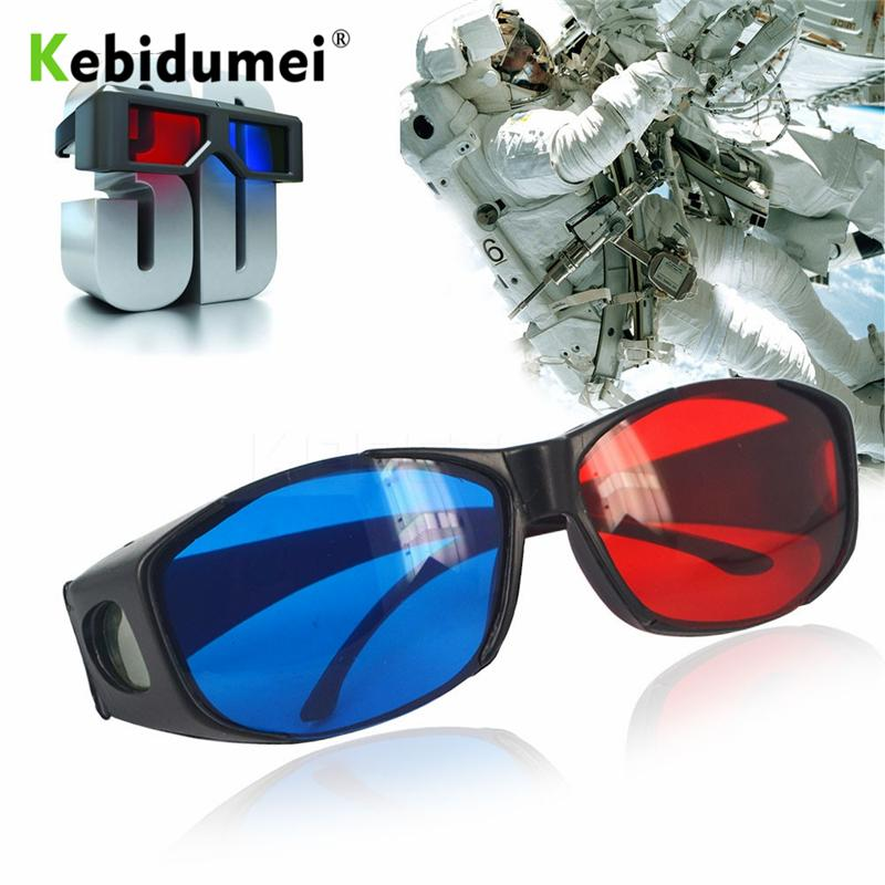3ff8ee468d Kebidumei 3D Red Green Magenta Glasses Cyan Myopia VISION Dimensional Anaglyph  Eyewear Video Glass For Plasma TV Stereo Movie Real 3d Glasses Reald 3d ...