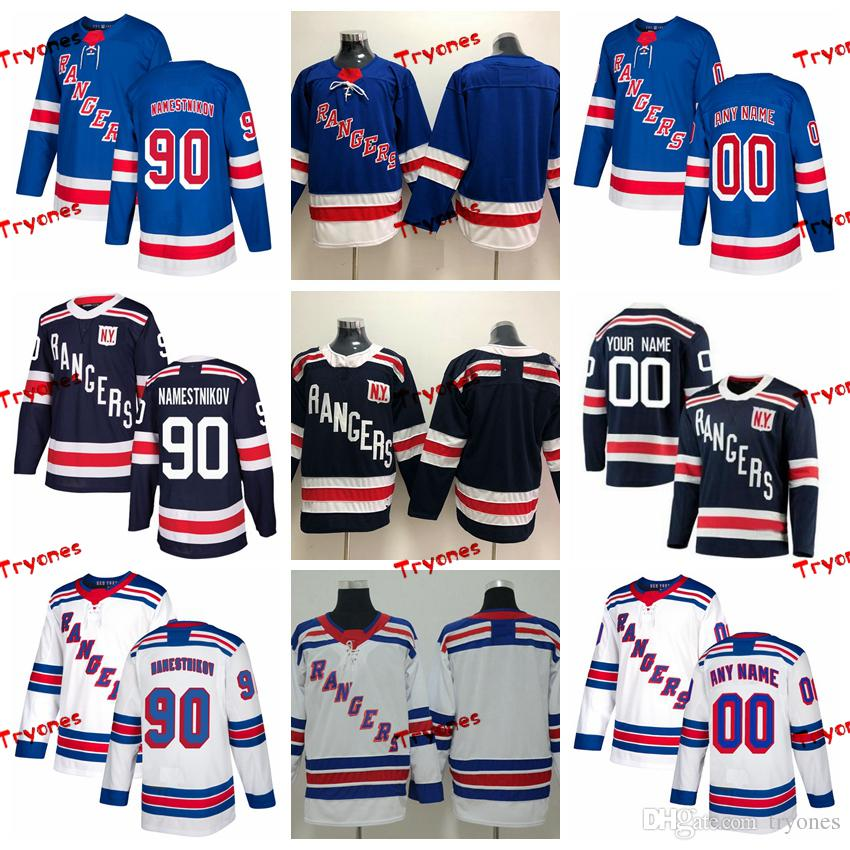 size 40 53622 ee91d 2018 Winter Classic Vladislav Namestnikov New York Rangers Stitched Jerseys  Customize Home Shirts #90 Vladislav Namestnikov Hockey Jerseys