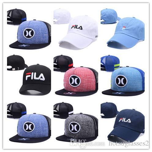 New Hot Hurley Mesh Baseball Caps Sports Bone Snapback Hats Hip Hop  Casquette Gorras Adjustable Hat Embroidery Cap Rack From Hotsuglasses2 fb82c5b6f11