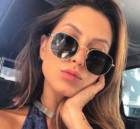 19a99c98b Fashion Family Sunglasses Women Men Brand Designer Vintage Sun Glasses  Hexagonal Eyeglasses For Ladies Mirrored UV400 With Cases Glasses Frames  Glasses ...