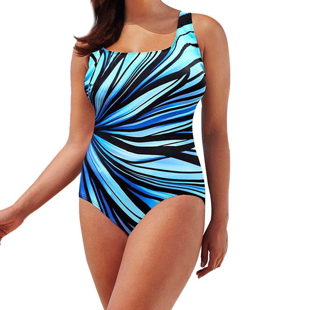 tankini mujer maillot de bain camouflage fusionné pour la natation Push Up maillot de bain rembourré Monokini maillot de bain une pièce maillot de bain taille plus