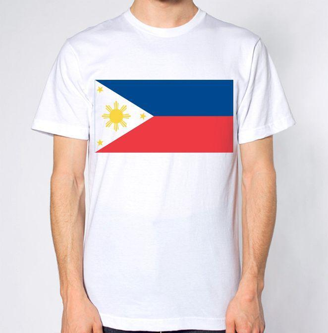 1c7d0331f5695 Philippines New T Shirt Map Flag Top Country Gift Present Filipino Holiday  Tee White Black Grey Red Trousers Tshirt The T Shirts Shopping T Shirts  From ...
