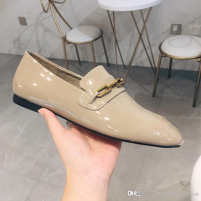 06277cd9c85 Luxury Designer Women Shoes Designer Slides Womens Loafers New 2018 Retros  Superstars Brand Casual Boat Fashion Shoes Size 4.5 8.5 Wedges Shoes Black  Shoes ...