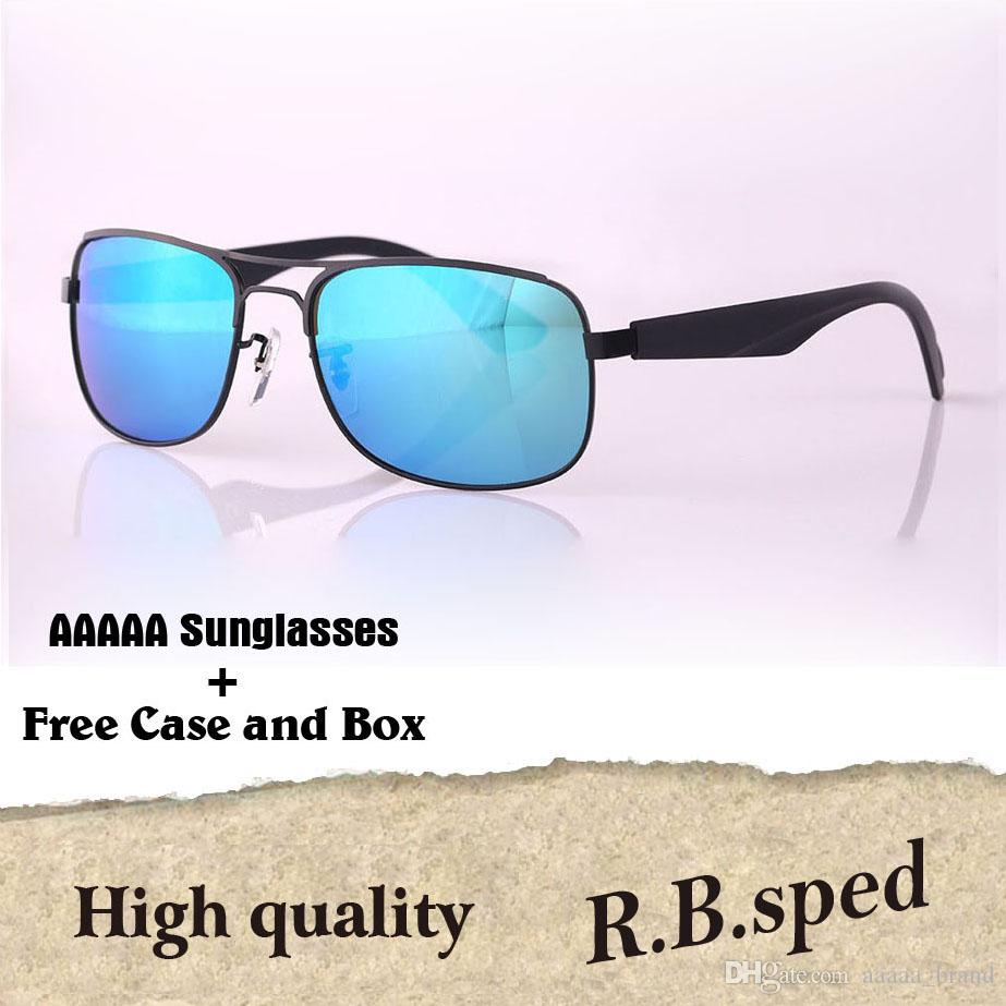 8c1f2dae103a Luxury Brand Polarized Sunglasses For Men Women Famous Brand Designer  Driving Mirror Sun Glasses Fashion Eyewear With Cases And Box Cheap Designer  ...