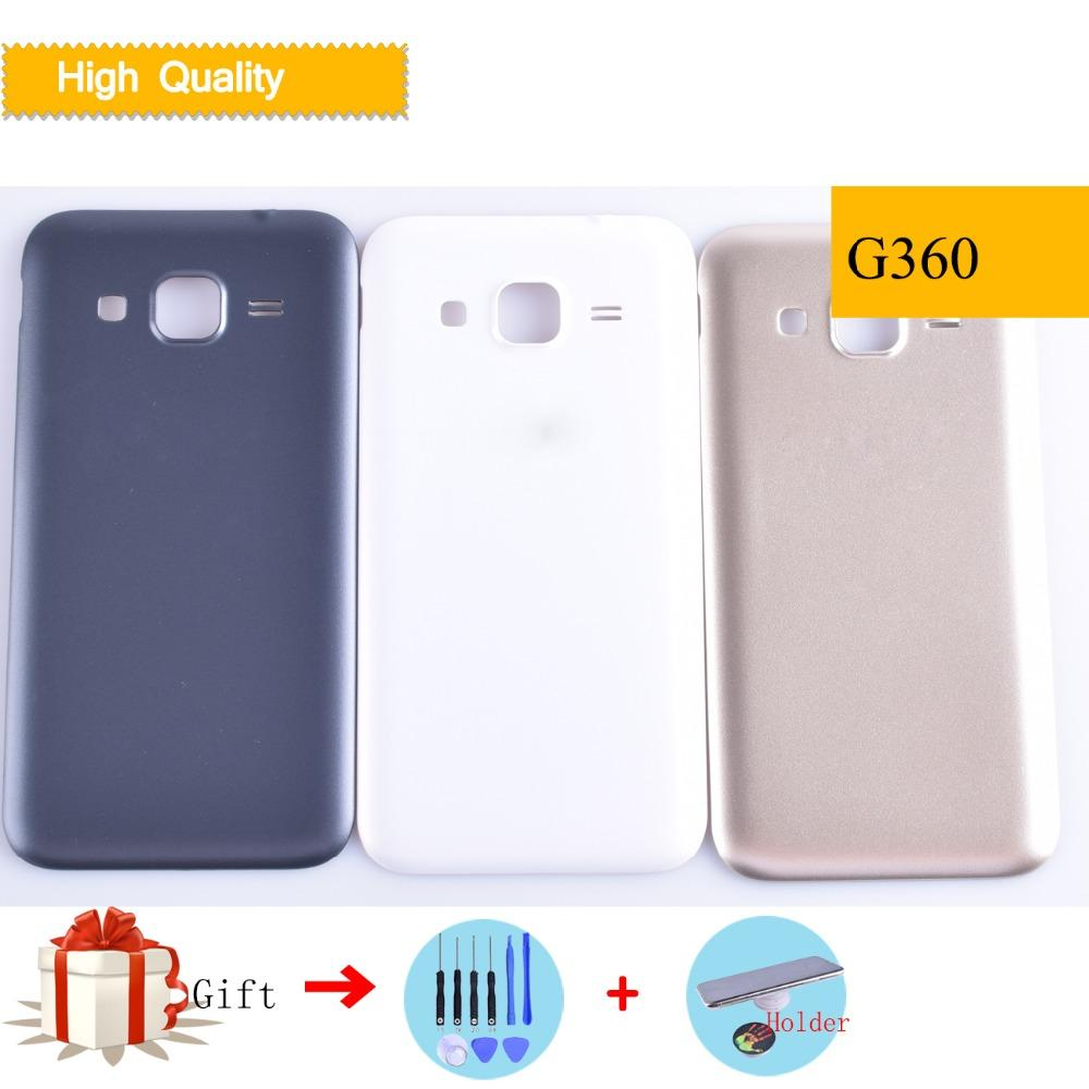 the latest 93340 9229b G360 Housing Battery Cover For Samsung Galaxy Core Prime G360 G360H G360F  Door Case Back Cover Replacement Parts with