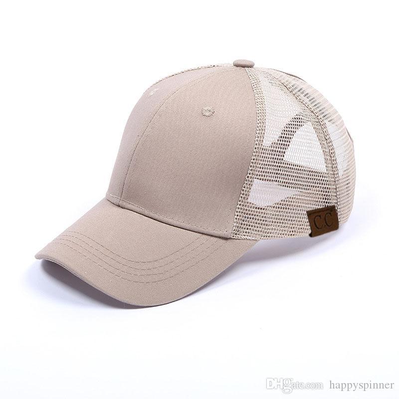 Gorra de béisbol de la moda de primavera y verano de cuadrícula gorra de béisbol del algodón del recorrido al aire libre de la lengua dom Cap
