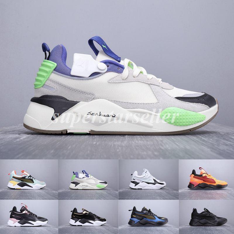 49e5fa5dba3 Acheter Chaussures Puma Rs Pumas Shoes 2019 Nouveau RS X Optimous  Reinvention Jouets Hommes Chaussures De Course Marque Designer Hommes  Transformers Casual ...