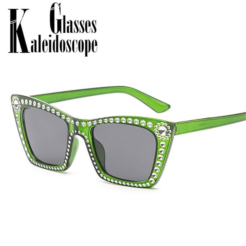 Compre Gafas Mujeres Vintage De Imitación Rectángulo Sol Moda 7gfyY6b