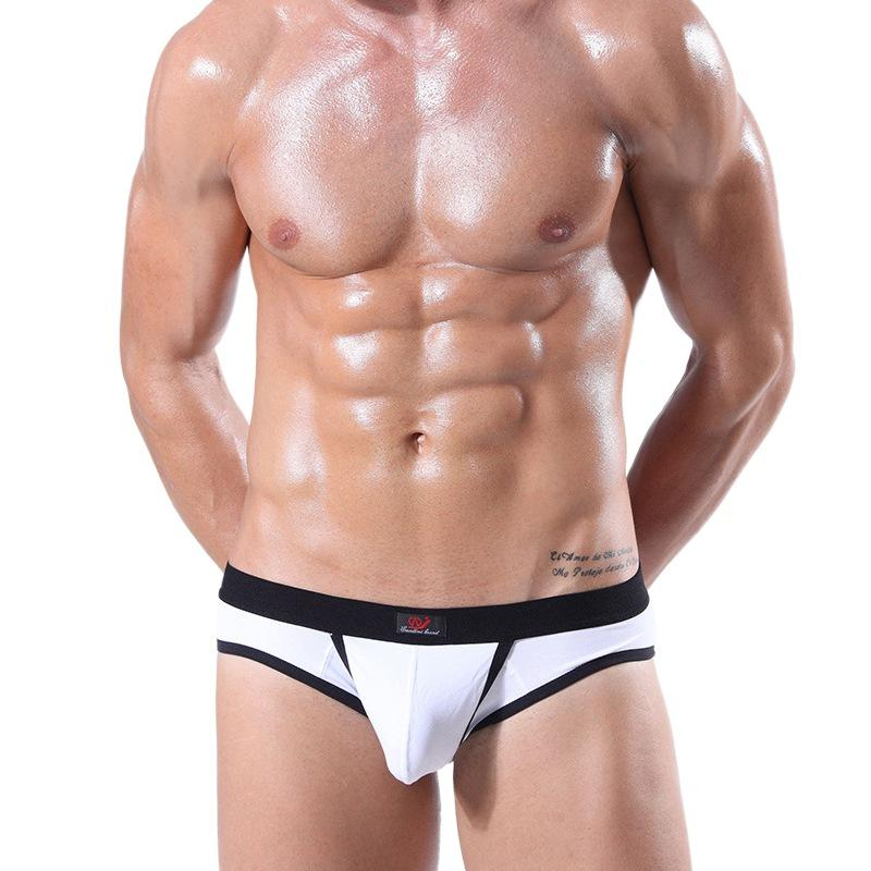 5d022f3da089 2019 Penis Pouch Men Briefs Mens Underwear Panties Hole Slips Low Waist  Sexy Mens Fashion Intimates Briefs 2019 New Arrival From Feiyancao