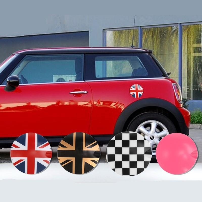 2019 Abs Union Jack Car Fuel Cap Tank Cover Sticker For Mini Cooper