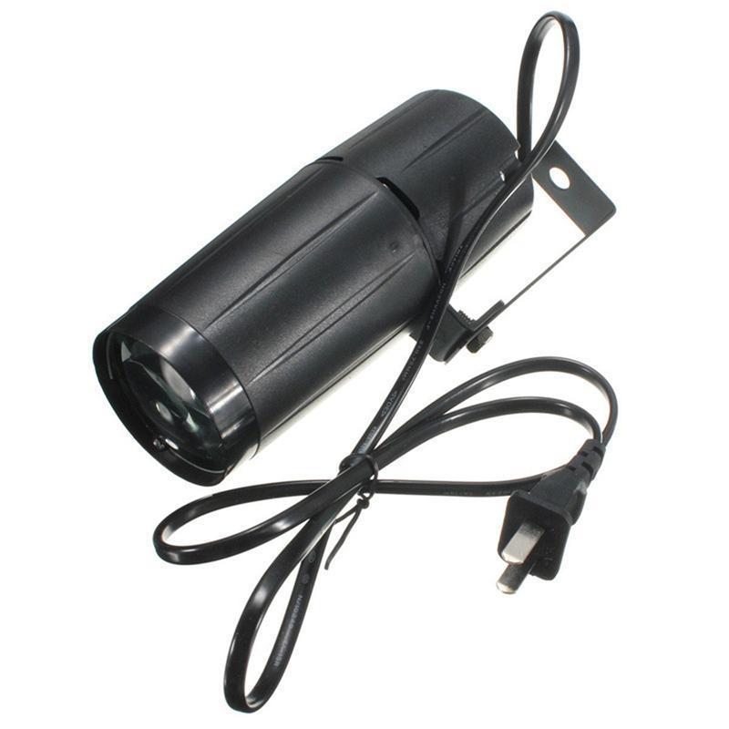 3W 220-240LM Mini LED Luces de escenario Efectos DJ Proyector Lámpara de proyector con control remoto para Karaoke Bar Fotografía Boda Fiesta
