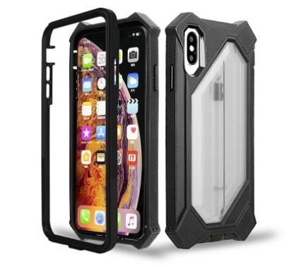 NICE Hot sale Robot phone case For iphone xs xr xs max tpu pc Shockproof phone shell phone case