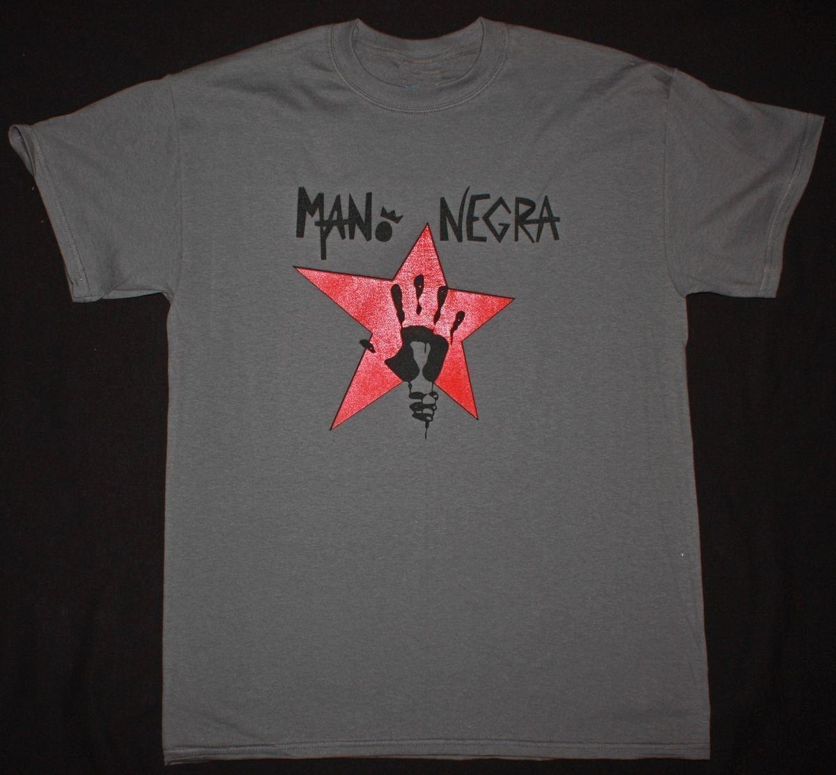4a8665a975396 MANO NEGRA KING OF BONGO SKA PUNK MALA VIDA HOT PANTS MANU CHAO NEW GREY T  SHIRT Funny Unisex Casual Tshirt Top On T Shirt Tourist Shirts From  Mvptshirt