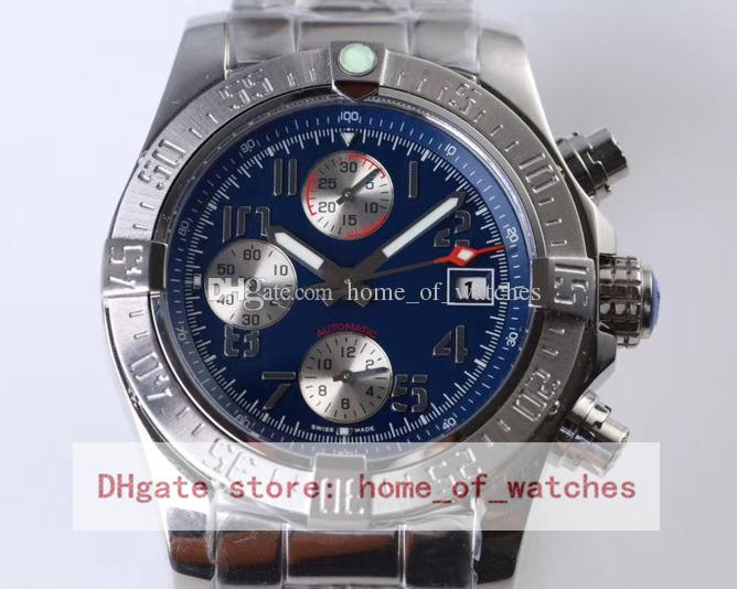 b31cddb0613e Luxury Chronograph Watch For Men GB Factory Best Quality 7750 Automatic  Mechanical Wristwatches Mens 44mm Pilot A1338111 Steel Watches