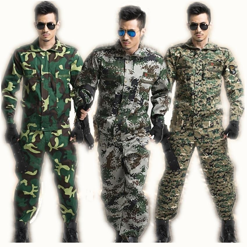 2dea252c9209 Acquista Tattico Militare Tattico Manica Lunga Tuta Mimetica Combattente  Provato Combattente Giacca + Pantalone Costumi Abbigliamento Uomo Imposta  C18122701 ...
