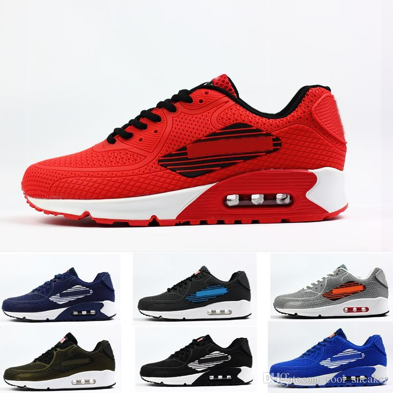 66fa03e15bb51 Cool 90 Big Logo NS GPX USA FLAG KPU Running Shoes Fashion Sport Sneaker  Best Running Shoes For Men Shoes For Sale From Cool_sneaker, $91.45   DHgate.Com