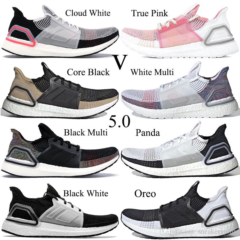 Neue Ultra Boost 5.0 Männer Frauen Laufschuhe Designer Sneakers Core Schwarz Roh Sand Weiß Multi Ultraboost Trainer Sportschuhe