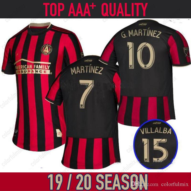 3afefb12057 2019 19 20 Mls Soccer Jerseys 18 19 Atlanta United FC  10 Almiron  7 Martinez  Soccer Shirt 2019 2020 Atlanta United Jersey Football Uniform From  Colorfulmix ...