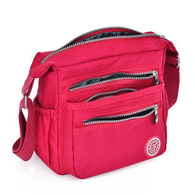 Nylon Women Messenger Bags Small Purse Shoulder Bag Female Crossbody Bags  Handbags High Quality Bolsa Tote Beach Hobo Handbags Italian Leather  Handbags From ... 56bcd209481cb