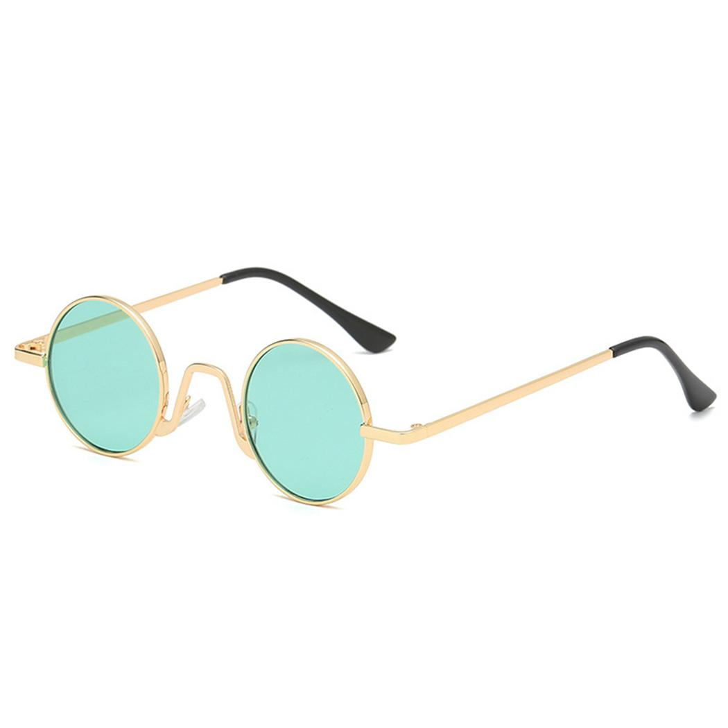 ce7253fdc1f4 Hippies Small Round Sunglasses Women Clear Lens Red Shades Sunglass Vintage  Brand Designer Gold Sliver Metal Frame Sun Glasses Baseball Sunglasses John  ...