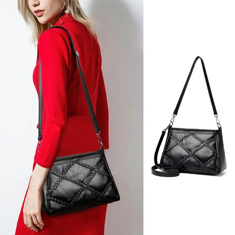81d5f6a144 THINKTHENDO Fashion Women PU Leather Handbag Shoulder Bags Tote Purse Lady  Female Messenger Hobo Satchel Crossbody Bags New Leather Backpack Clutch  Bags ...