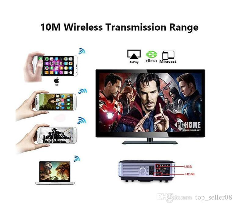 AnyCast M4 Plus Wireless WiFi Display Dongle Receiver 1080P HD Interface TV Stick DLNA Airplay Miracast for Smart Phones Tablet