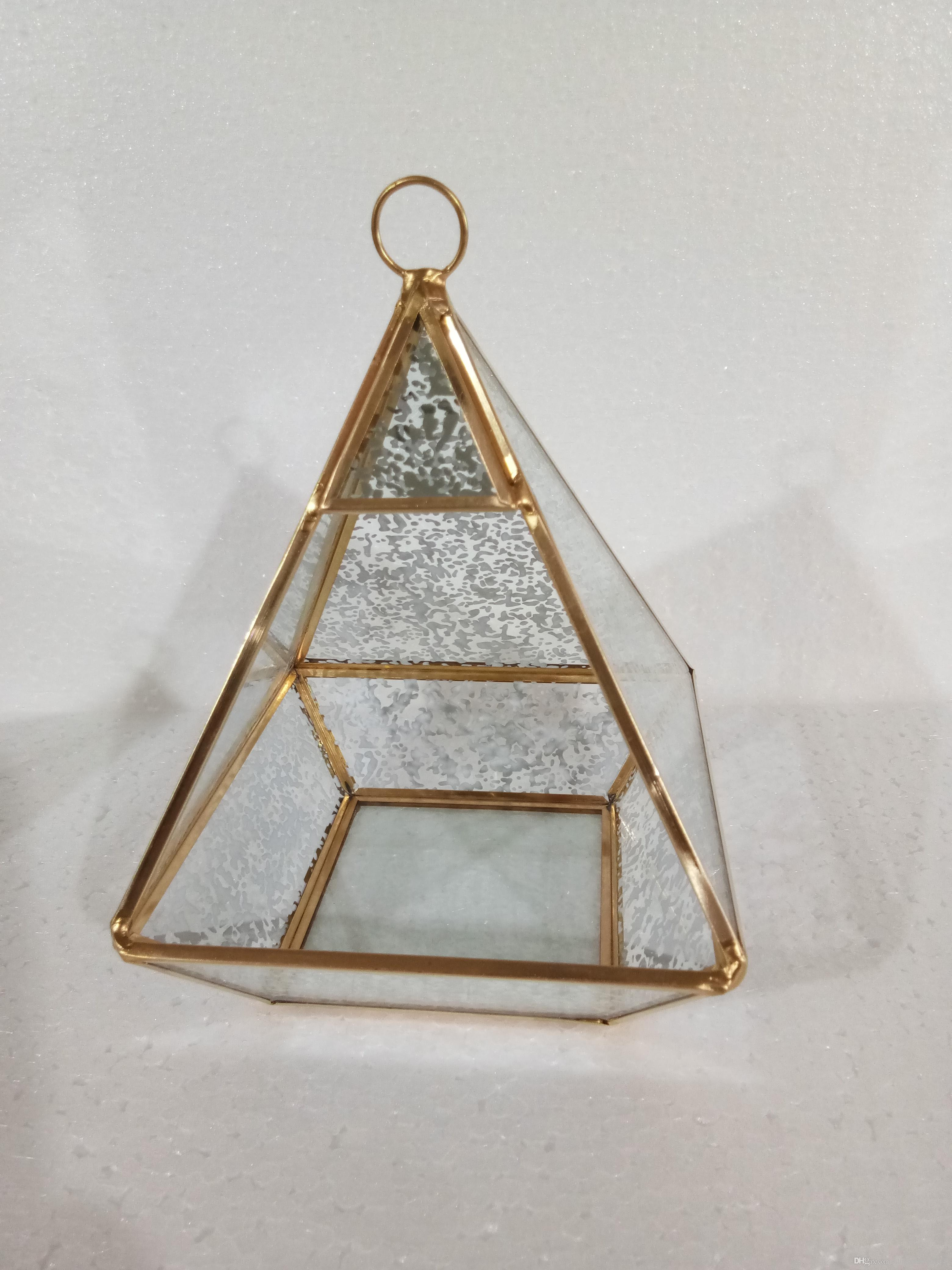 Geometry Glass Terrarium For Home And Garden Decoration From China