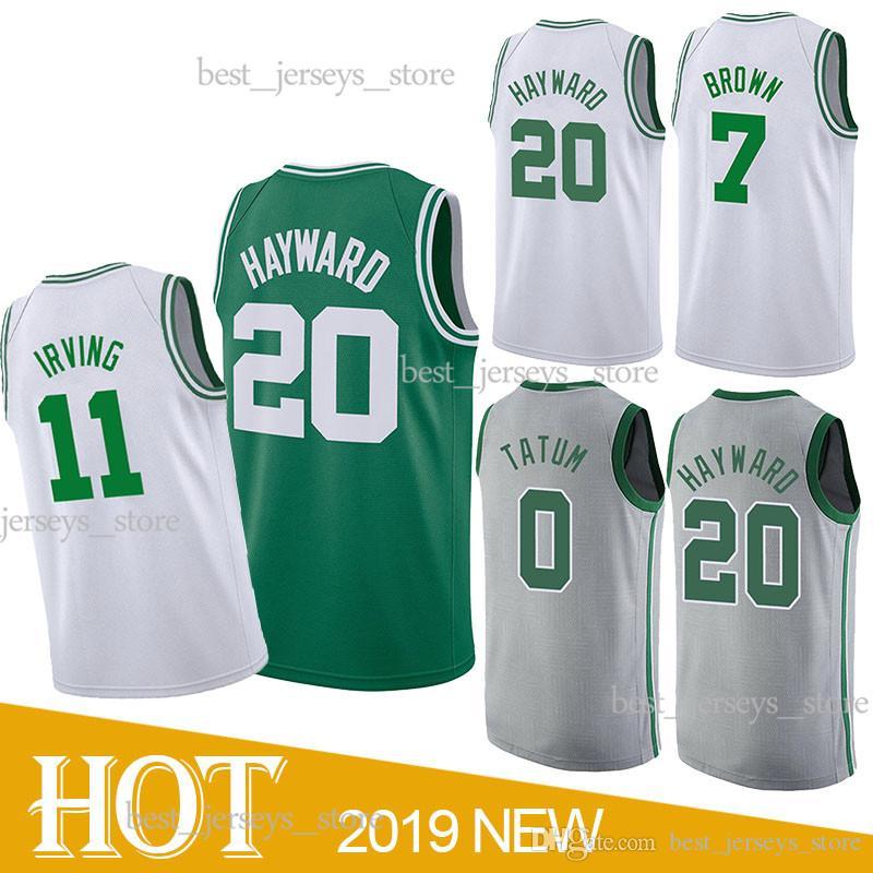 eb36418ca1b 2019 20 Hayward 0 Tatum 7 Brown 42 Horford 11 Irving Basketball Jerseys  Free Shopping Jersey 2019 Top MEN Shirt From Best jerseys store