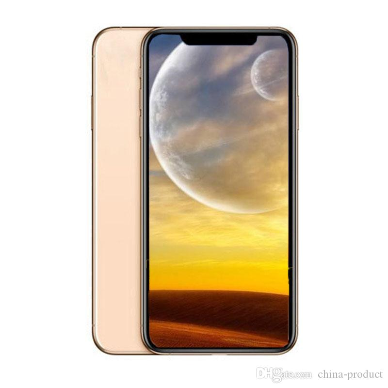 6.5inch Goophone XS MAX Quad Core MTK6580 Android Smartphones 1G/4GB+8GB Show Fake 4G/256G 4G lte Unlocked Phone with Sealed box