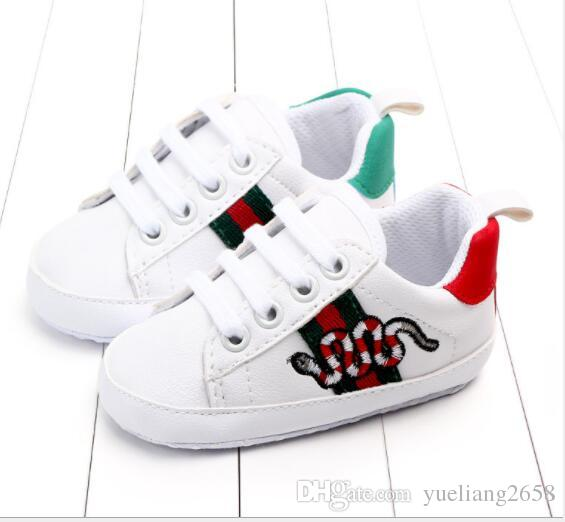 8c4eef60a 2019 Baby Shoes Gucci Baby Sneaker Sport Shoes For Girls Boys Newborn Shoes  Baby Walker Infant Toddler Soft Bottom Anti Slip First Walkers From  Yueliang2658 ...