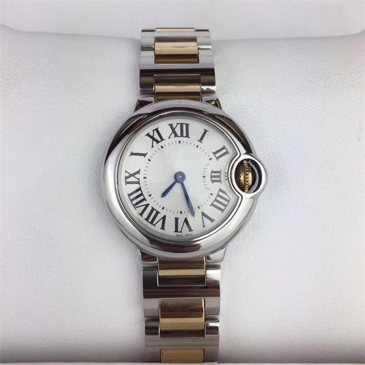 926542207e77 Compre Reloj De Acero Inoxidable Con Esfera Blanca De Cuarzo Blanco De Alta  Calidad W69007Z3 Para Mujeres 28 Mm A  89.35 Del Du003shuai