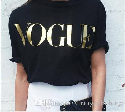 17030b283f1d Hot Sale Fashion Summer Women Tee Thin Cool Pullover Vogue Printing ...
