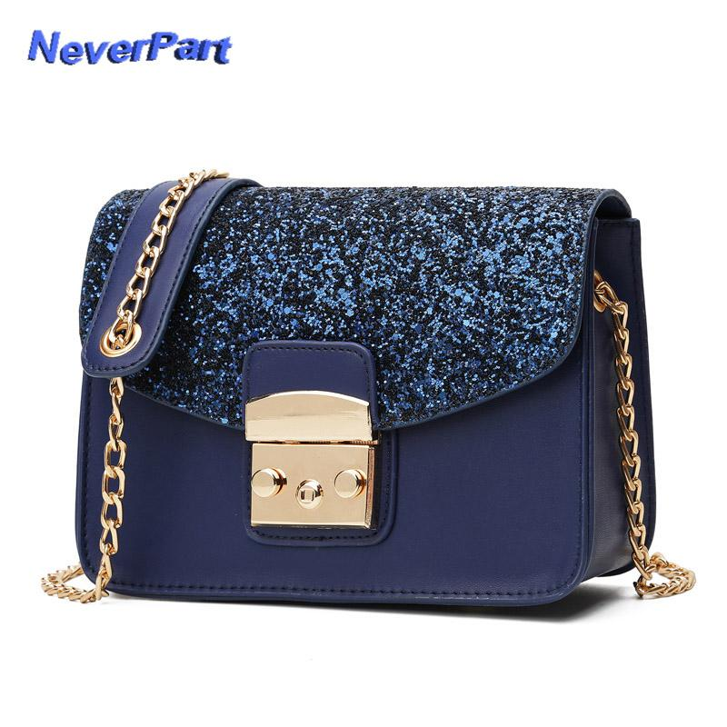 648dca905f94 2019 New Women Shoulder Bag Female Party Sequin Messenger Bags Crossbody Bag  Ladies Handbag Chain Cash Coin Big Bags Shiny Money Cheap Bags Cute Purses  From ...