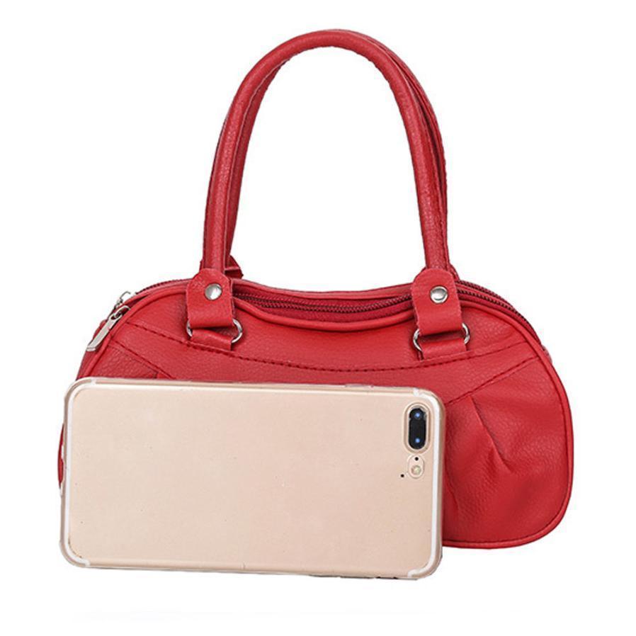 eb58276132694 Satın Al Ucuz Moda Bayan Bayanlar Çanta Retro Moda Katı Renk Omuz Çantası  Çanta Bayan Deri Omuz Çantası # F, $11.86 | DHgate.Com'da