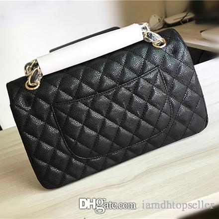 7047feee3323 Top Designer Caviar Leather Women Shoulder Bag Medium Bag Caviar ...