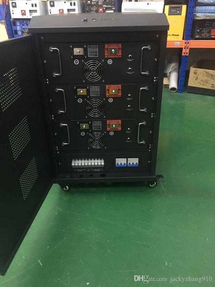 TPP DC 24V / 48V 12KW PURE DISPLAY LCD Inverter onda sinusoidale CARICA LED + DCAC EXCHANGE 3-FASE 4-WIER SYSTEM + GND 3KW ~ 45KW