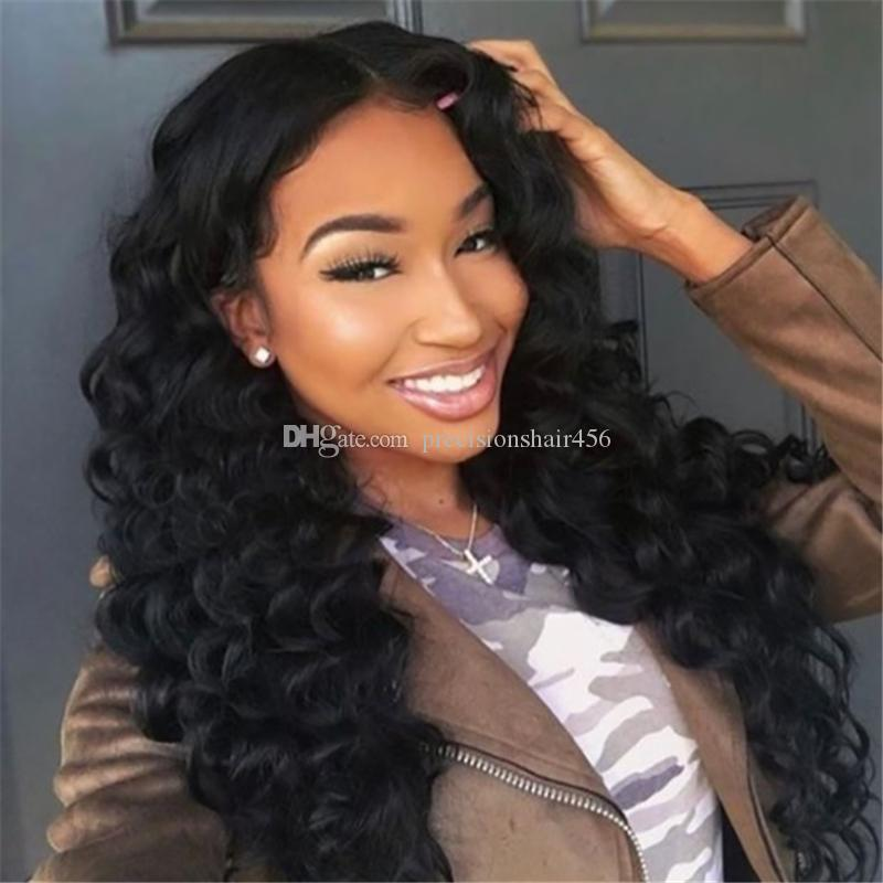 Top Quality Deep Wave Lace Front Human Hair Wigs For Black Women 150% Density Pre Plucked Brazilian Remy Hair Wigs with Baby Hair
